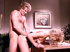 golden age porn video featuring hot blonde chick