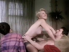 Hot 80's porn video with double penetration