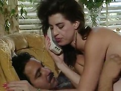 Hairy guy cheats on his wife in a golden age porn
