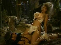 1980's porn video of savage barbarian sex