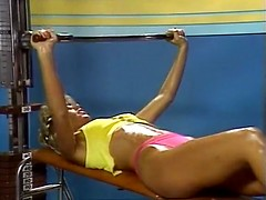Sex in the sport club from xxx golden age porn