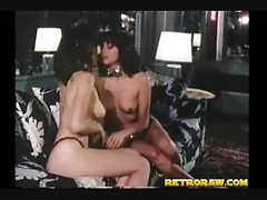 Retro three girl orgy