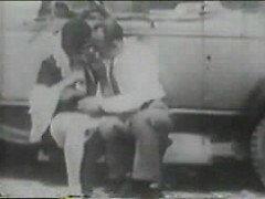 Vintage porn compilation with hairy pussies fucked around the town