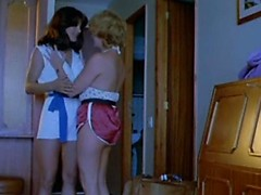 Classic lesbian porn action of 1970 with MILFs pleasing pussies