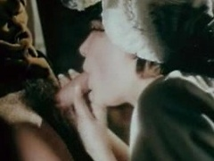 1970 German porn movie with hardcore threesome fuck of matures