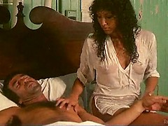 Spanish MILF makes mature cock explode in classic 1970 porn